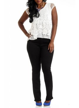 LOLA Mid Rise Classic Straight Jean
