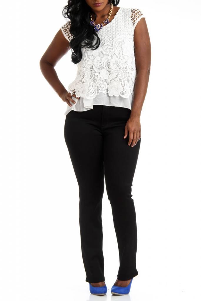LOLA Mid Rise Classic Straight Jean
