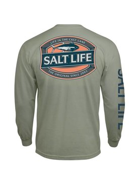 Salt Life Salt Life Life In The Cast Lane Long Sleeve Tee