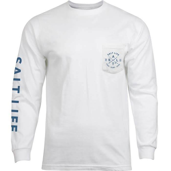 Salt Life Salt Life Original Salt Long Sleeve Tee