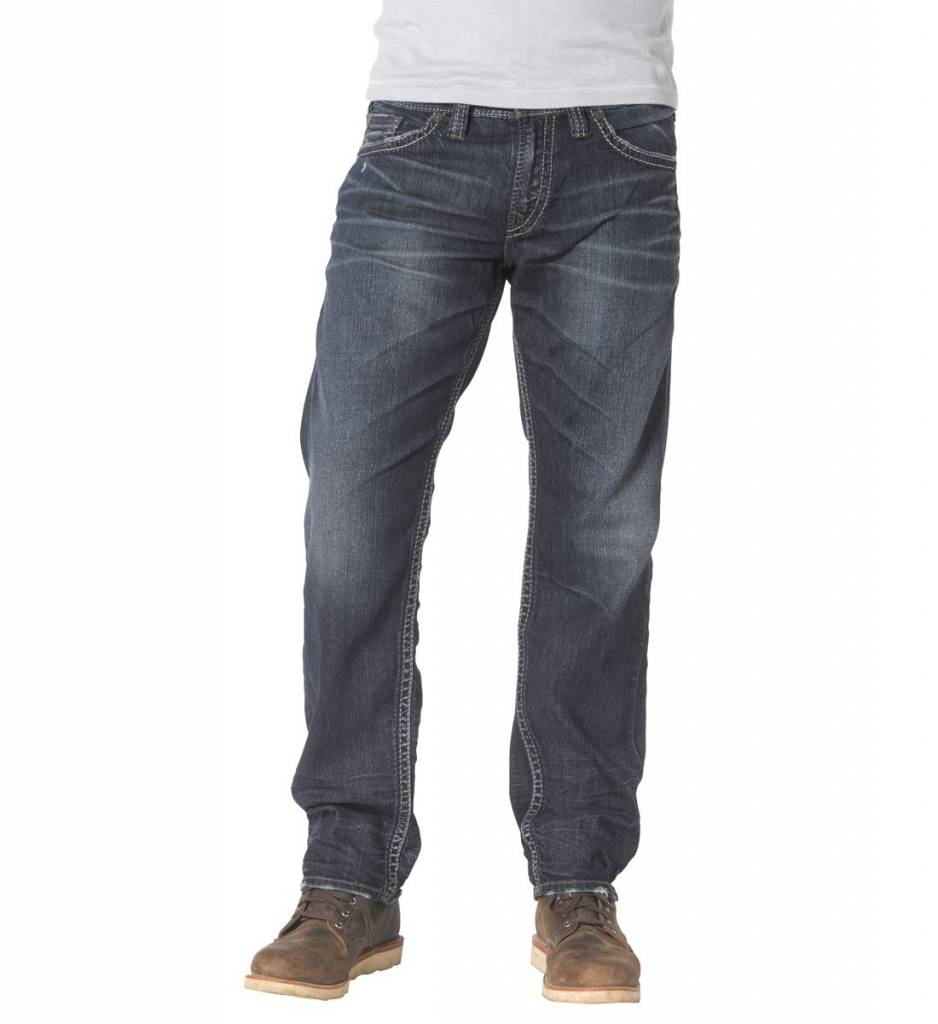Silver Jeans Co. Eddie Dark Wash