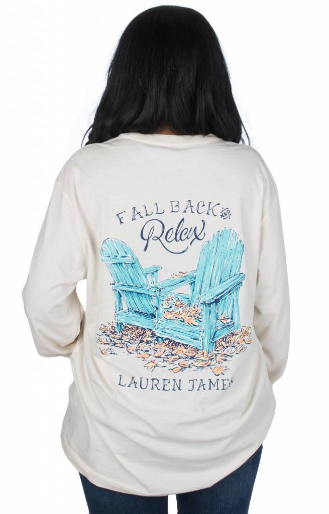 Lauren James LAUREN JAMES Fall Back Tee L/S