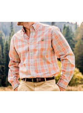 Southern Marsh Southern Marsh Dobbs Check Dress Shirt - Wrinkle-Free