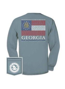 Georgia City Flag Long Sleeve