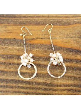 Pretty Persuasions Freshwater Pearl Earrings