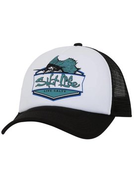 Salt Life Sailfish BadgeTrucker Mesh Hat