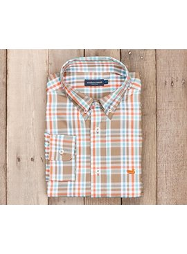 Southern Marsh Southern Marsh Fairley Plaid Dress Shirt