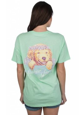 Lauren James Lauren James - Life is Golden Tee - Short Sleeve