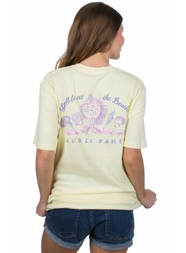 Lauren James Lauren James - Shell Be At The Beach Tee - Short Sleeve