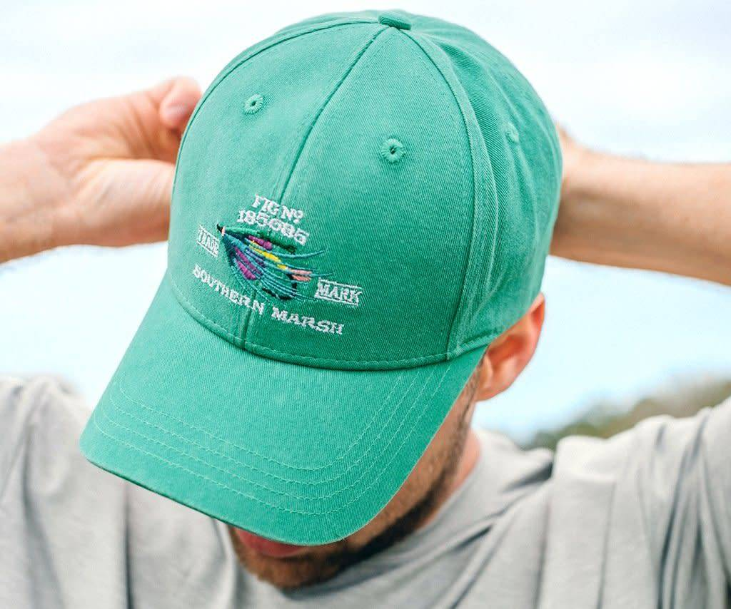 Southern Marsh Gunnison Embroidered Hat - King Frog Clothing   The ... 85bcf810957