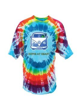 Hippie At Heart Tie-Dye T-Shirt