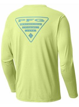 Columbia Sportwear Terminal Tackle PFG Triangle™ Long Sleeve Shirt