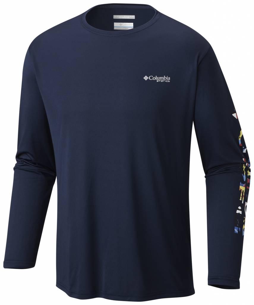 Columbia Sportwear Men's Terminal Tackle PFG Sleeve™ LS