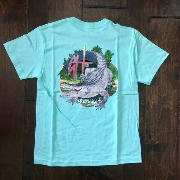 Guy Harvey Guy Harvey Gatoraid Boys Short Sleeve Shirt