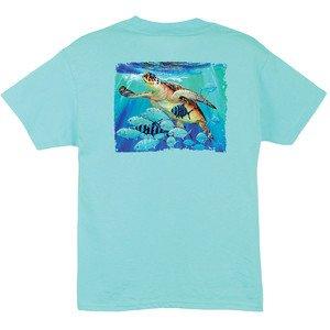 Guy Harvey Guy Harvey Hawksbill Caravan Boys Short Sleeve Shirt