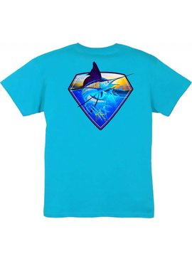Guy Harvey Guy Harvey Super Sail Boys Short Sleeve Shirt