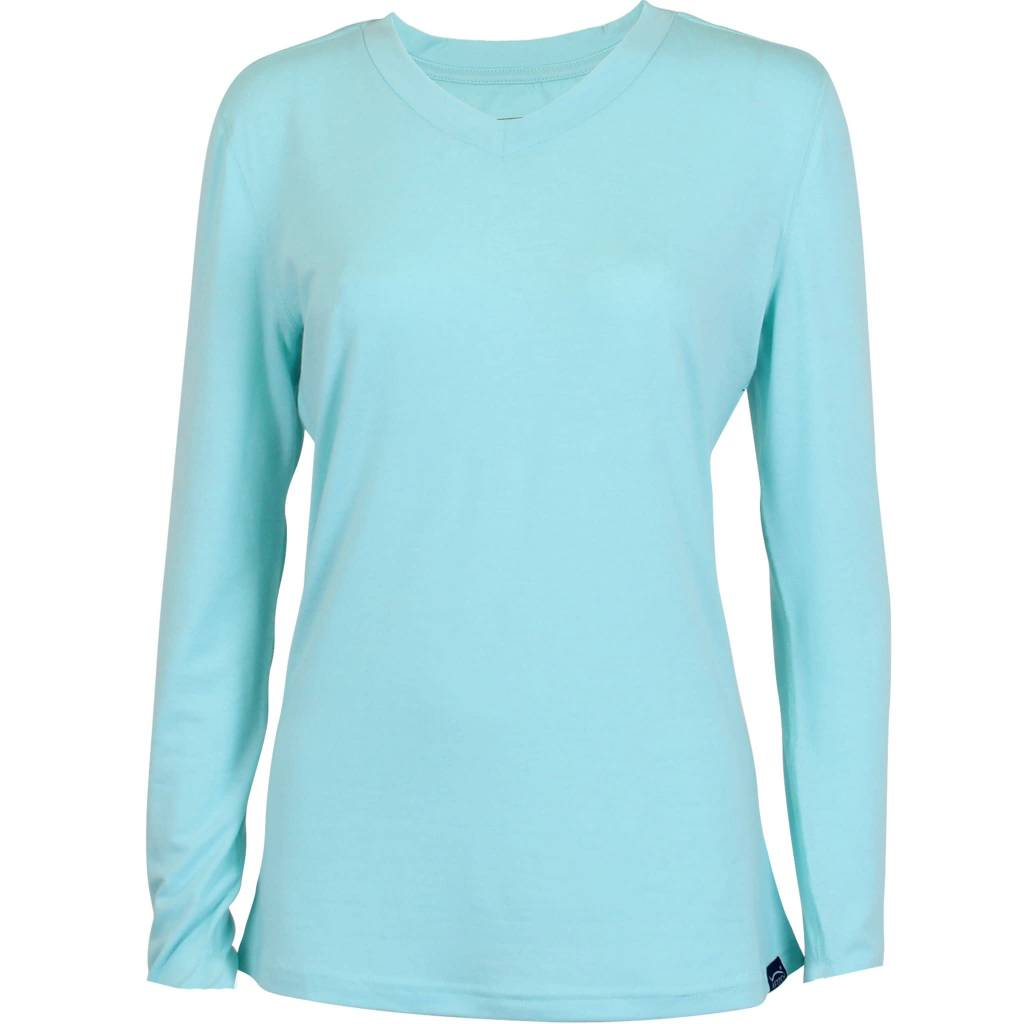 AFTCO WOMENS ORBIT PERFORMANCE LONG SLEEVE T-SHIRT