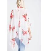 143 Story Floral Print Kimono