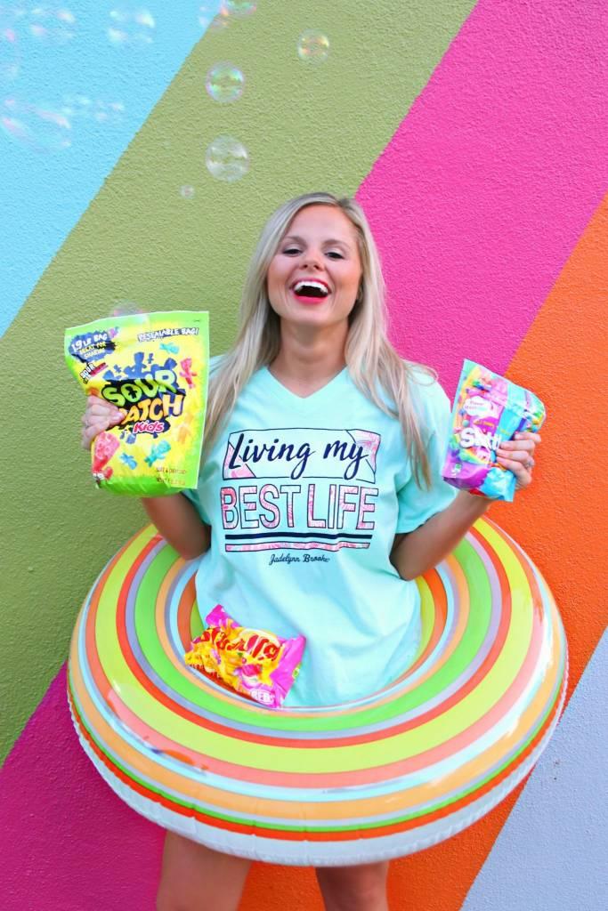 Jadelynn Brooke Living My Best Life - SS / V-Neck
