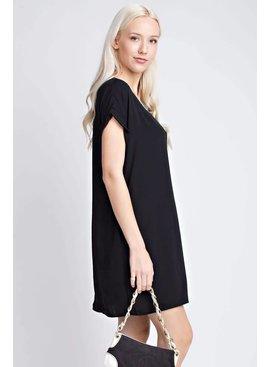 Dress with side pocket