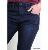 5 Pocket Mid Rise Skinny Seamed Jean