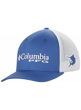 Columbia Sportwear Junior Mesh Ballcap-Vivid Blue, Mar O/S