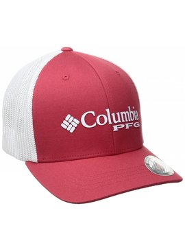 Columbia Sportwear Junior Mesh Ballcap-Sunset Red, Bas O/S Youth Unisex