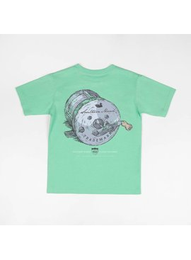 Southern Marsh Fishing Reel - Short Sleeve - Youth
