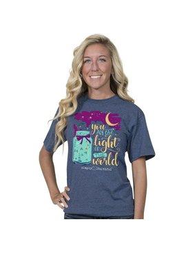 SIMPLY FAITHFUL® You Are The Light Short Sleeve T-Shirt
