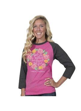 Simply Faithful SIMPLY FAITHFUL® God Is Within Her 3/4 Sleeve T-Shirt