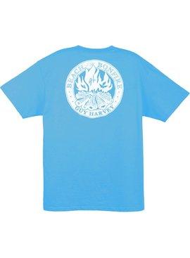 Guy Harvey Guy Harvey Beach Bonfire Mens Short Sleeve T-Shirt