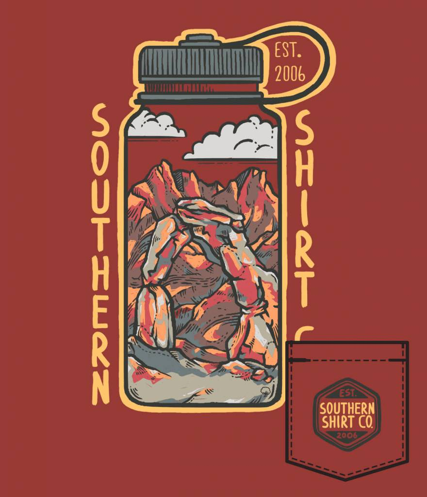 Southern Shirt BOYS THIRST FOR ADVENTURE SS