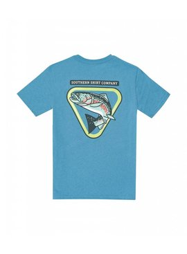 Southern Shirt Boys Trout Badge SS