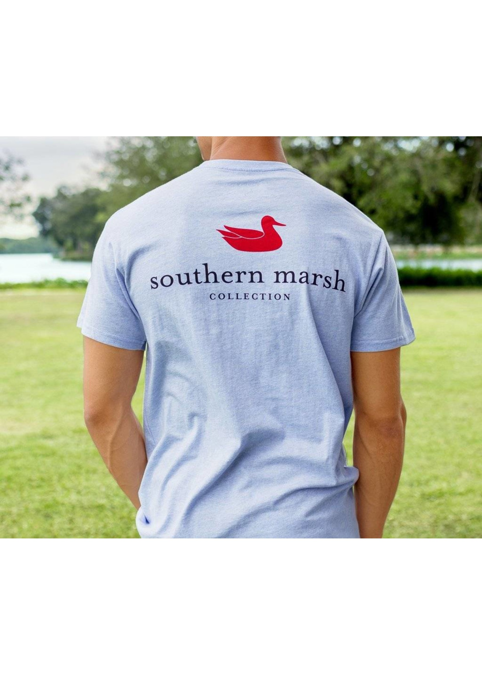 Southern Marsh Southern Marsh Authentic Tee - Heather