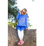 Jadelynn Brooke I Solemnly Swear (Poolside Blue) - Long Sleeve / Crew
