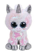 Ty TY-DIAMOND WHITE SEQUIN UNICORN MED