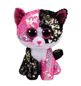 Ty TY-MALIBU SEQUIN PINK/BLK CAT MED