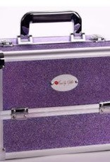 KISSED BY GLITTER KIS-DS1003M SPARKLY PURPLE CASE