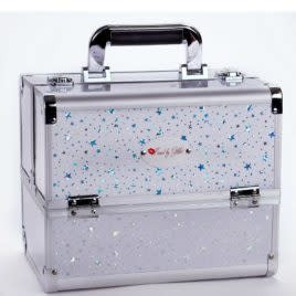 KISSED BY GLITTER KIS-DS1004M WHITE/SILVER STARS CASE
