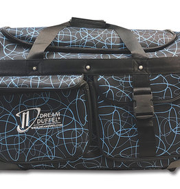 Dream Duffel Medium Blue Scribble
