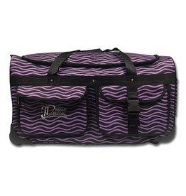 Dream Duffel Large Purple Waves