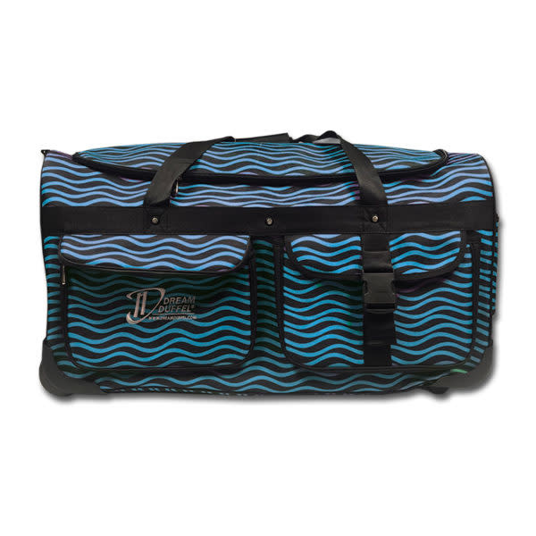 Dream Duffel Large Blue Waves