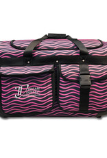 Dream Duffel Medium Pink Waves