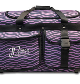 Dream Duffel Medium Purple Waves