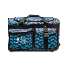 Dream Duffel Medium Blue Waves