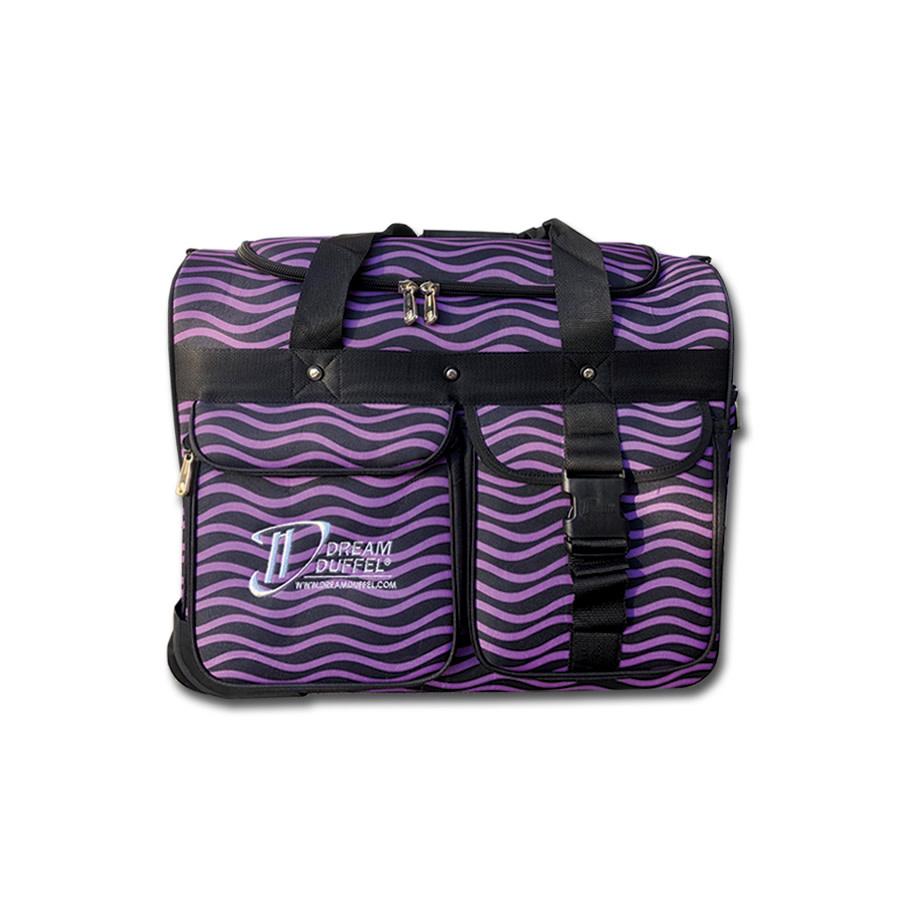 Dream Duffel Small Purple Waves