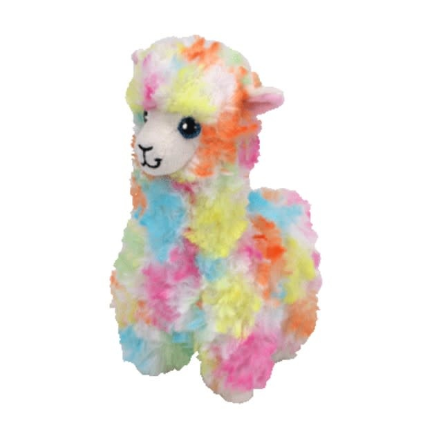 Ty Lola Tye Dye Llama Medium