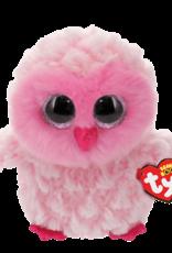 Ty Twiggy Pink Owl Beanie Boo