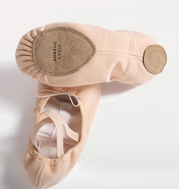 Angelo Luzio 246A Canvas Adult Ballet Shoe