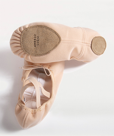 Angelo Luzio 246A Stretch Canvas Ballet Shoe for Adults